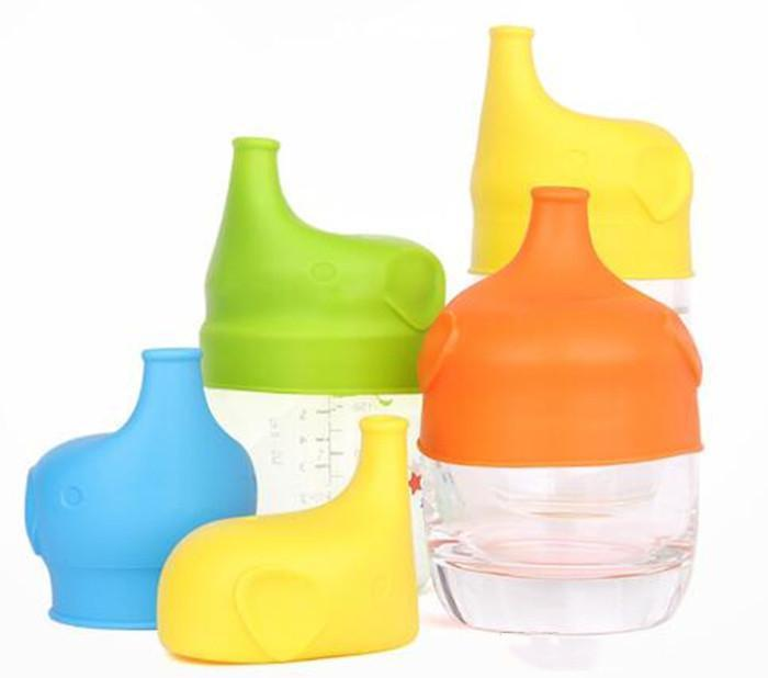 Silicone Sippy lid Nipple lids for any size Kids mug & Toddlers Leakage Cup for Infants and Toddlers BPA DHL Free Shipping