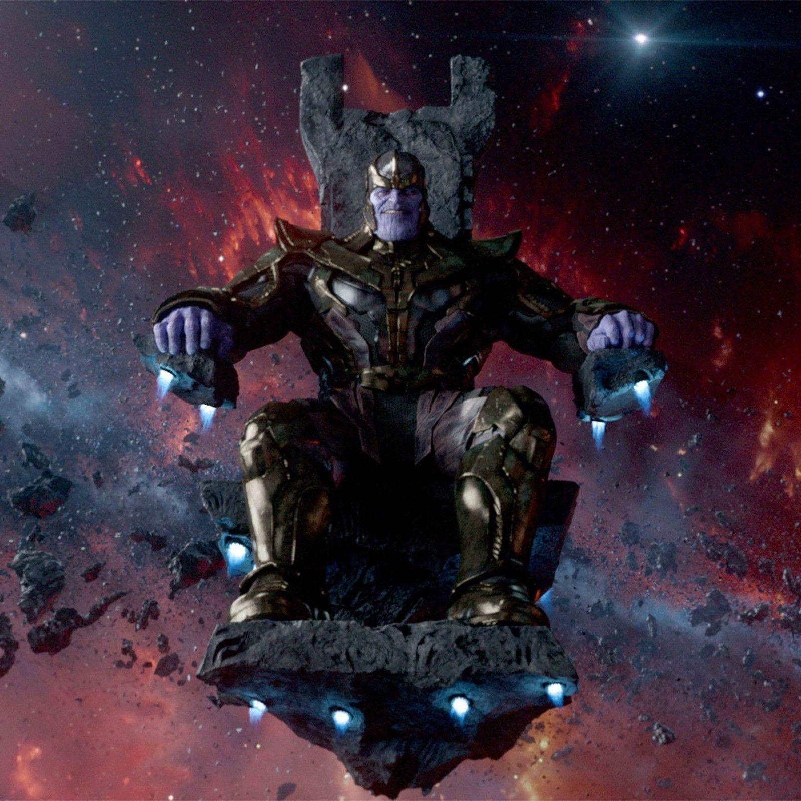 The Avengers Thanos wall Decor Art Silk Print Poster 24x24inch