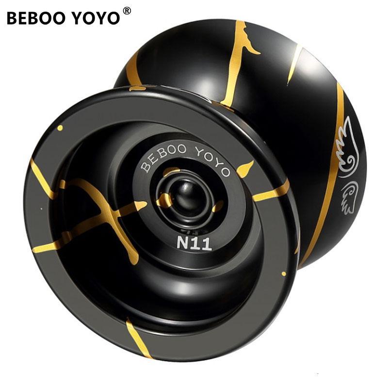 BEBOO YOYO Professional Yoyo Ball Yo yo set kk bearing Yo-yo Metal Yoyo Classic Toys Diabolo Magic Gift For Children N11 SH190913