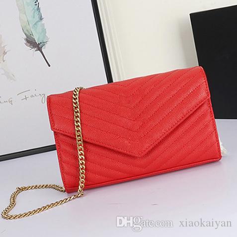 Venda quente Moda Mulheres Bolsas de Ombro Clássico Couro Ouro Estilo Coração Cadeia New Bag Mulheres Handbag bolsa de lona Mensageiro bolsas