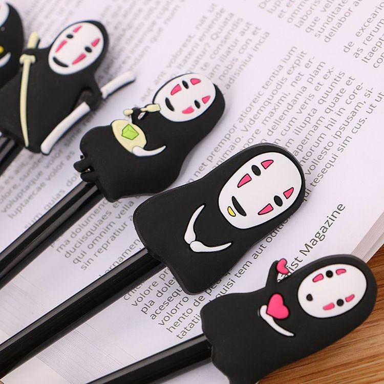 2021 Japanese Spirited Away Stationery Hayao Miyazaki Animation Gel Pen Ink Pen Novelty Cartoon