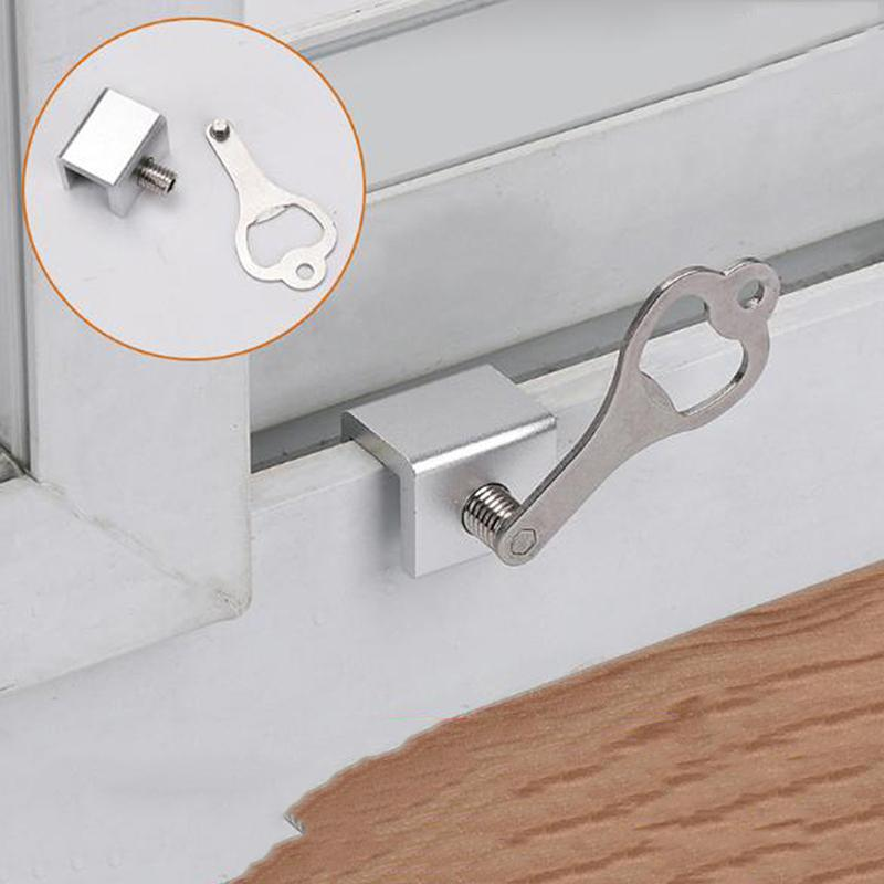 Alta calidad Mover la ventana Bloqueo para niños deslizantes de seguridad de Windows bloqueo de seguridad Guillotina deslizable tapón