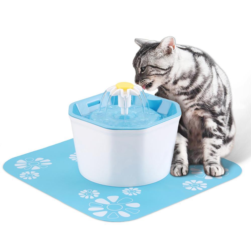 Cat automatico cane Fontana potabile creativo Pet Fontana Pet Water Dispenser cane di salute del gatto Cura Fontana Feeder