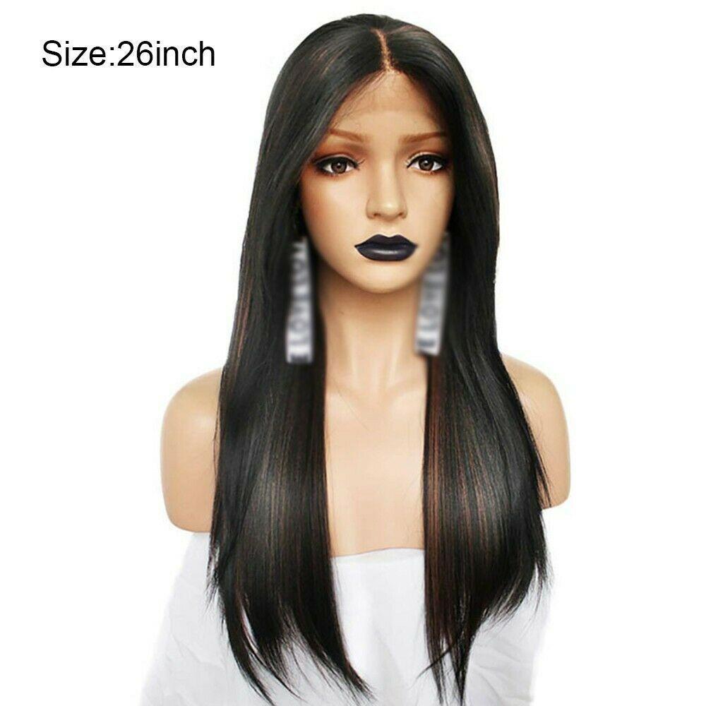 13x6 del frente del cordón peluca recta frontal de la peluca pelucas del frente del cordón del pelo humano para el Negro Mujeres de antes desplumados brasileña del cordón del pelo de Remy del chisme