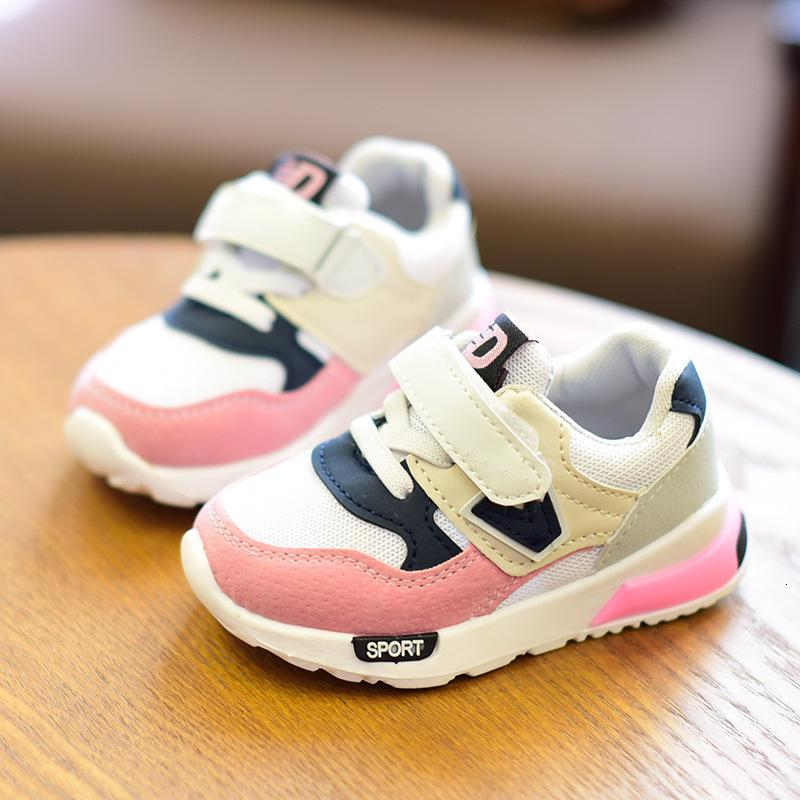 1-6 Years Children Autumn Winter Fashion Breathable Boys Girls Anti-Slippery Sneakers Baby Foot Inside Length 13.5-18cm Toddler Sport Shoes