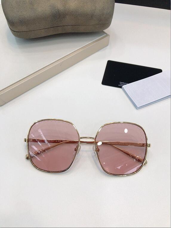 Новая мода с очками Популярные Простые Мужские Летние Мужчины Солнцезащитные очки Женщины Открытые Солнцезащитные Очки Защита Солнцезащитные Опции Оптовая UV400 4252S LCPU