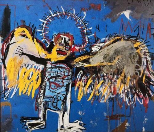 Jean Michel Basquiat « Fallen Angel » Home Décor Artisanats / HD huile d'impression Peinture murale sur toile Photo 200306