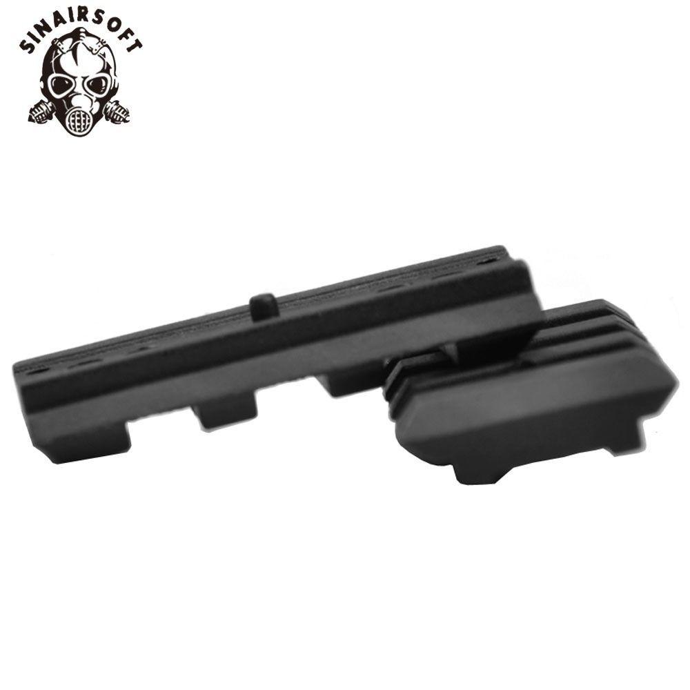 Universal Tactical AEG Pistol Plastic Polymer Base Quad Rail Picatinny