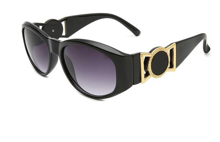 2019 Новые моды роскошь бренда очки женщин 424 марочные круглые классические солнцезащитные очки дизайн очки мужчины солнцезащитные очки бесплатную доставку