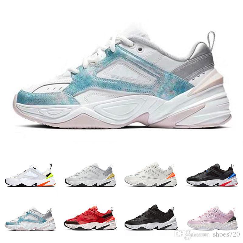 Nike M2K Buack Monarch le M2K Tekno Papa Sports Chaussures de course pour Top qualité Femmes Hommes Designer Zapatillas Sport Trainers Sneakers Taille