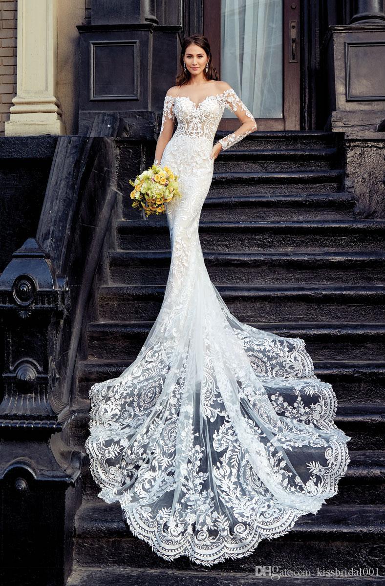 2019 New Sexy Wedding Dresses Mermaid