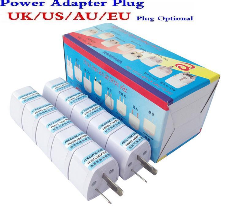 Universal Eu US UK AU adaptador de viagem adaptador de plugue Worldwide 250V AC adaptador de tomada conversor de poder