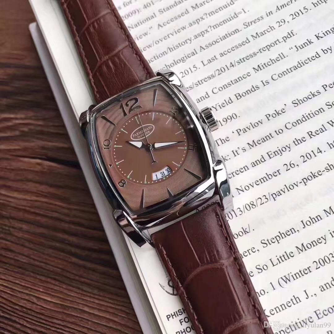 AAA Genuine Leather Original 2019 New Luxury Famous Designer Brand Sapphire  Kalpa Watches Boy Mens Watch Quartz Movement Wristwatch 1130026