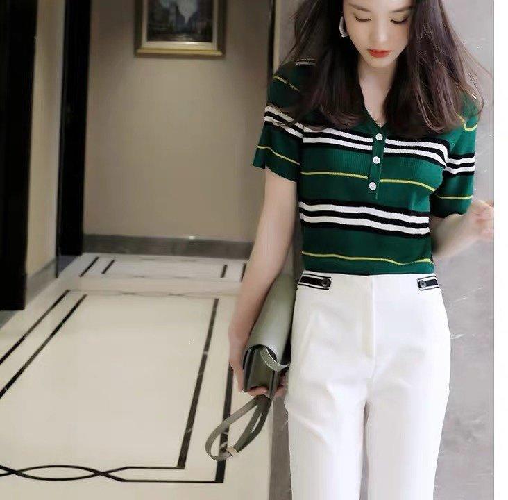 Tasarımcı Kadınlar Gömlek 2020 Yaz moda gömlek tişörtleri Ücretsiz favori yeni listeleme Parti çekicilik 6R8X nakliye bahar