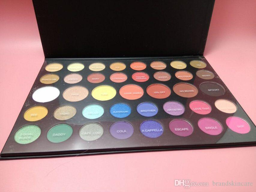 جديد ماكياج 3 9 ألوان العين الجمال لوحة طبيعية طويلة الأمد ماتي لامع لوحة 3 9 ظلال شحن مجاني!