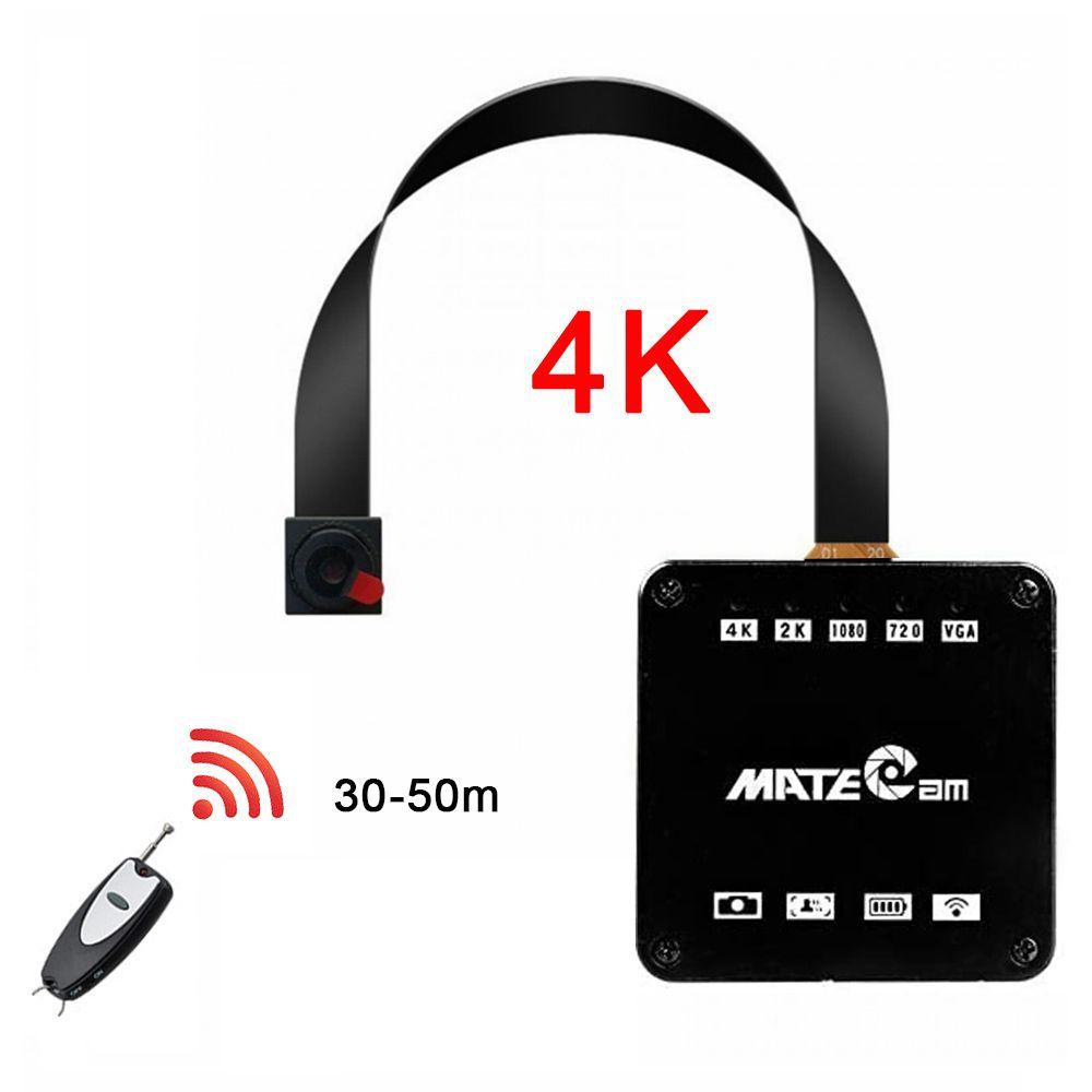 ريال 16MP 4K المهنية WIFI نقطة ساخنة P2P البسيطة 2K كاميرا الوحدة مايكرو DV مسجل صوت DIY حدة تحكم عن بعد كاميرا فيديو