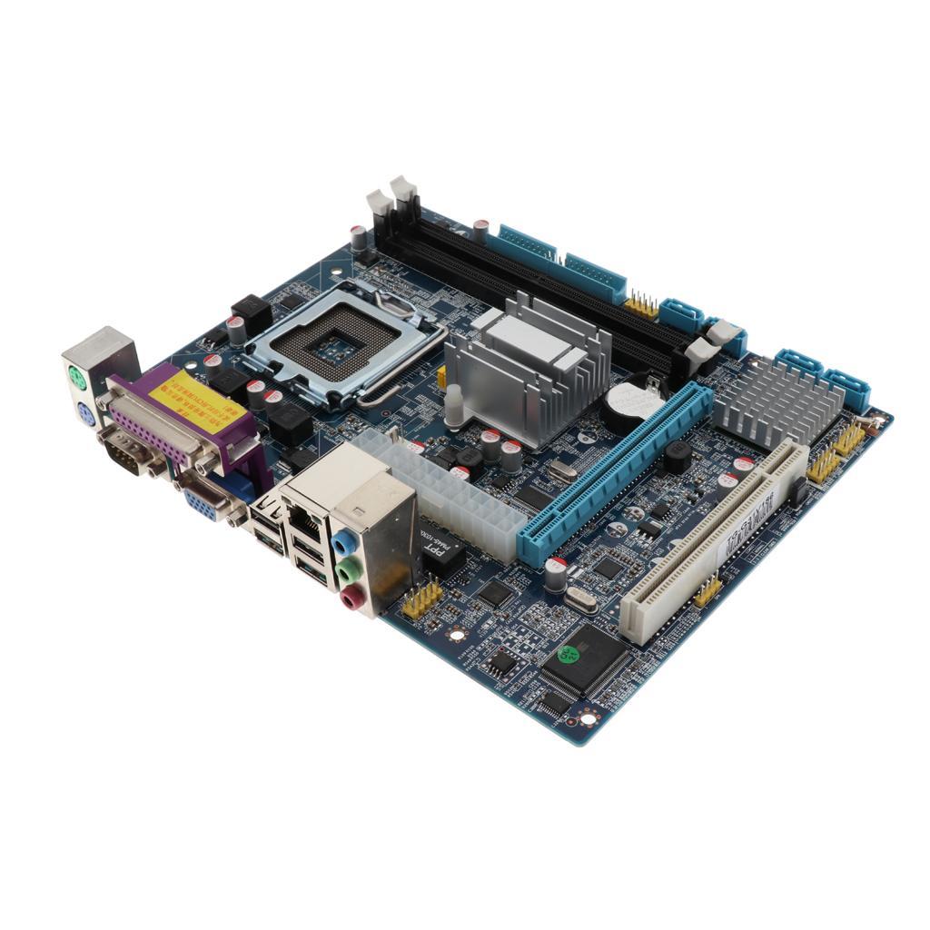 G31V186 데스크톱 마더 보드 DDR2 1333 메모리 100M 네트워크 카드 Mianboard