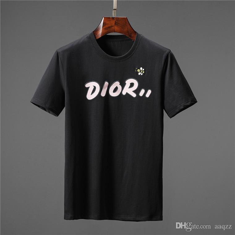 2020 camisetas de los hombres de verano camiseta de los hombres de manga corta de algodón Diseñador tapas ocasionales de las camisetas de los hombres