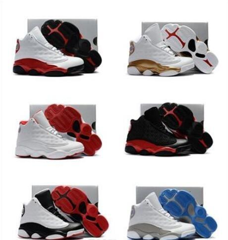 Boys Girls 13 Kids Basketball Shoes Childrens 13s 13/14 DMP Pack Playoff Sports Shoes Toddlers Birthday Gift Youth Kids Sport Shoes
