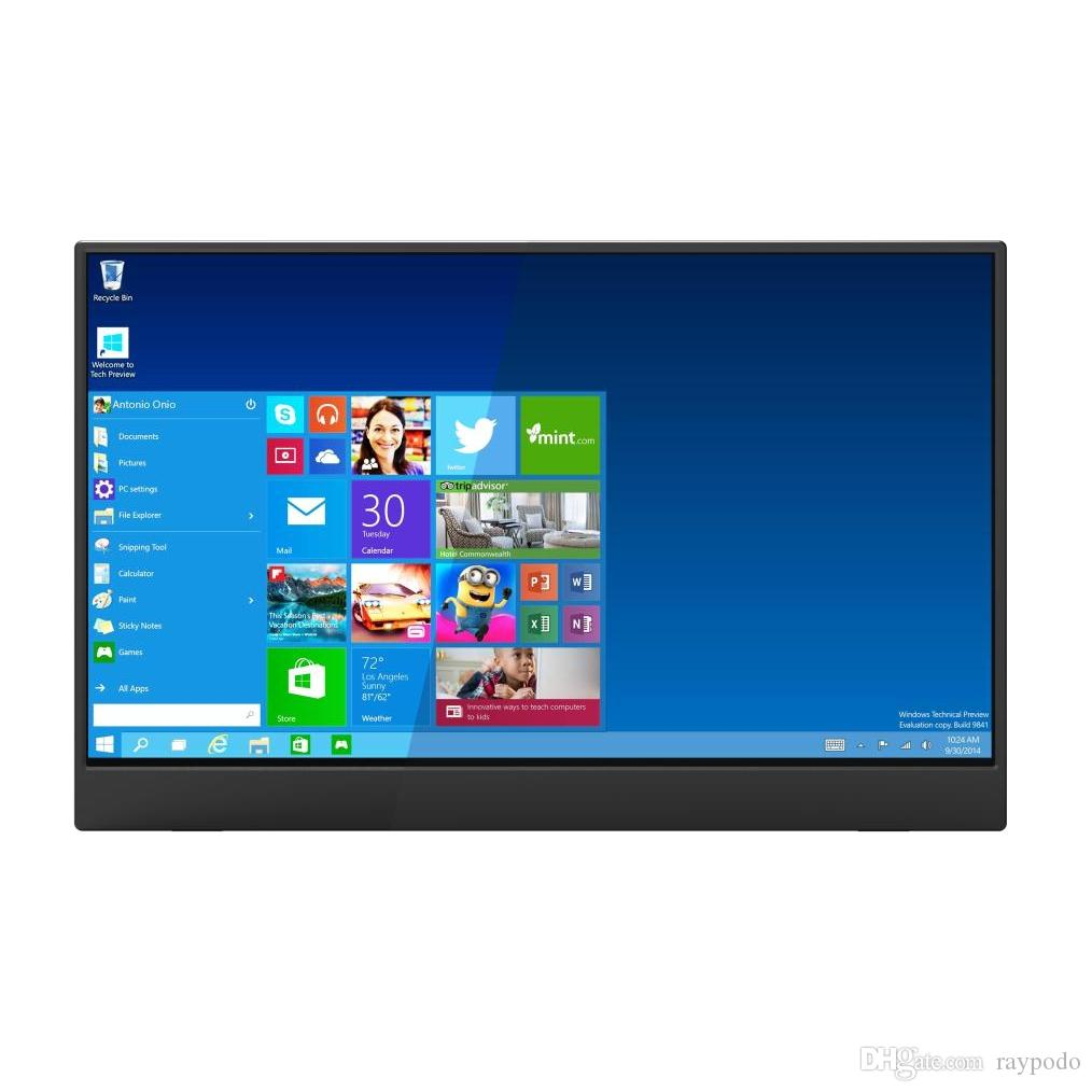 Raypodo New development 15.6 Inch 4K 3840*2160 touch screen gaming monitor with Type C HDMI interface