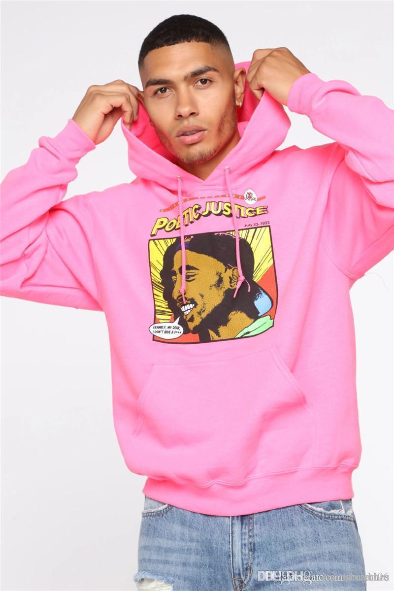 High Street Menshoodies-Designer Printed Fleece Pullover Pullover Mode Hiphop lange Hülse der Männer Lässige Kleidung