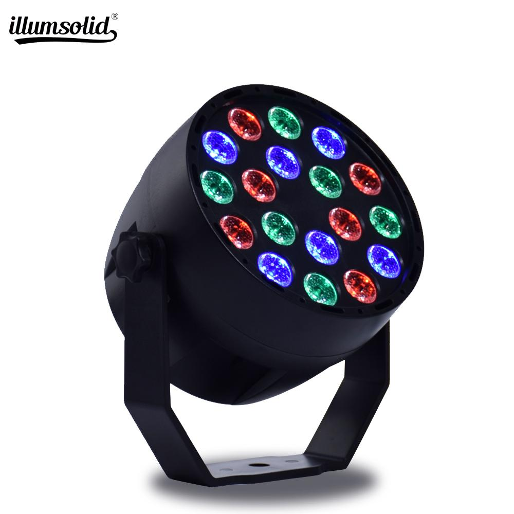 18x3W RGB couleur d'éclairage DMX Strobe pour l'ambiance Disco DJ Music Party Club Danse Floor Bar assombrissement