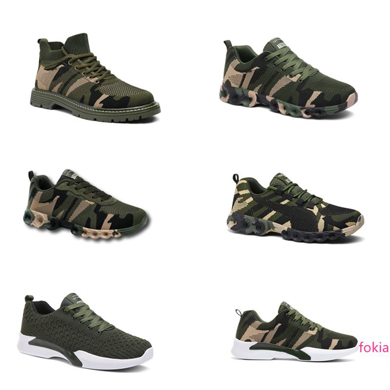 hotsale 2020 Designer Shoes No-Brand Uomini Donne Scarpe Camouflage Army Green Outdoor Trainer Siez 36-44 Style 307 Esecuzione