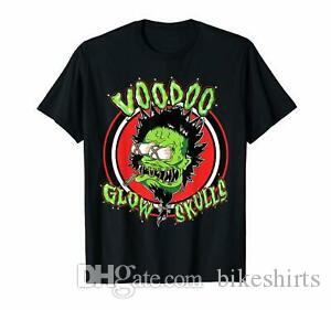 Voodoo Glow Skulls Amerika Ska Punk Band Kısa Kol Siyah Komik Tişörtlü S 6XL