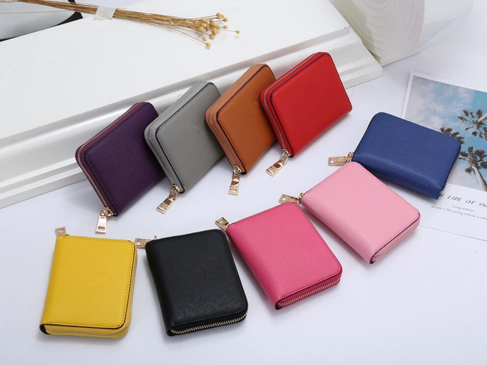 Designer- 레이디 지갑 금속 단일 패션 PU 가죽 지갑 남성 신용 카드 지갑 지갑 가방 여성 선물 도매 잠 번호의 ada60017