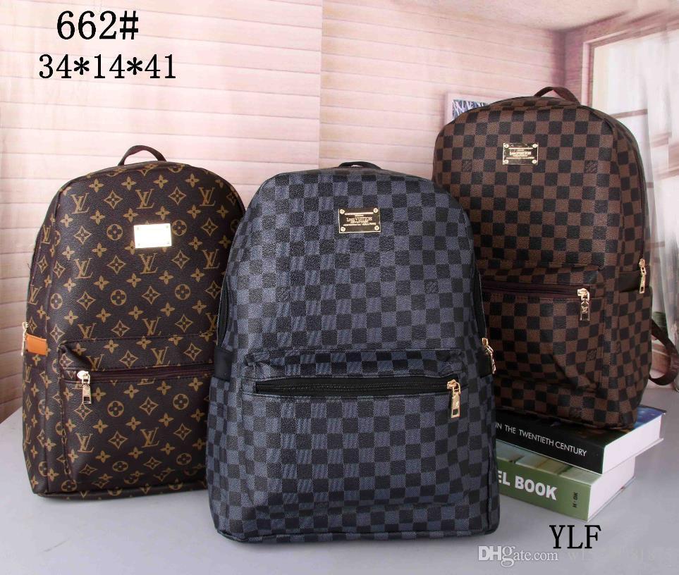 NEW hohe Qualität Europa Frauentasche Handtaschen Rucksack Damen-Schulebeutel Rucksack-Art Rucksäcke