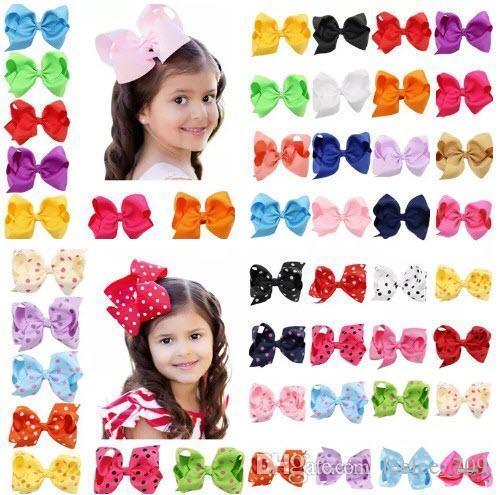 16 Renkler Bebek Kız Cany Renk Büyük Yay Tokalarım Tasarım Saç Ilmek Çocuk Şapkalar Çocuk Firkete Kızlar Saç Klipler Bebek Saç Aksesuarı