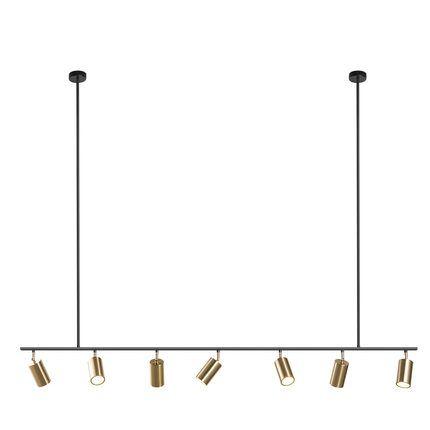 Gold Lampenschirm Anhänger Lichter LED Hängende Scheinwerferlampe GU10 Nordic Modern Design Für Esszimmer Metall Suspension Leuchte