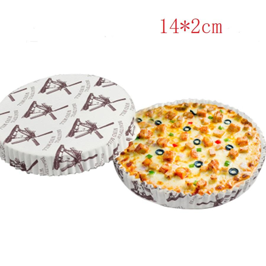 2019 6 Inch Round Pizza Tray Oil Proof High Temperature Disposable Bread Paper Pie Tray Packing Boxes From Hotsalehome 2533 Dhgatecom