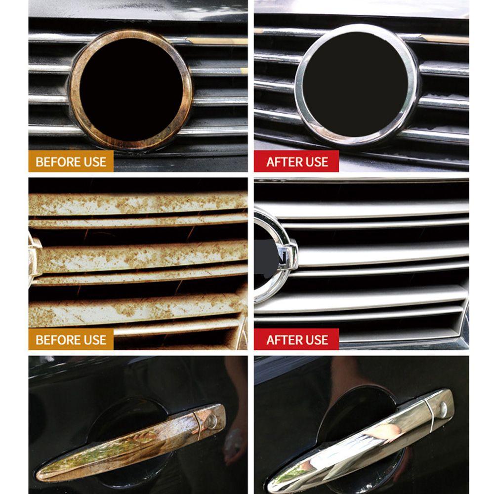 Verchromte Teile wiederherstellen Polierwerkzeug Auto Auto Metallrostlöser 20 / 50ML