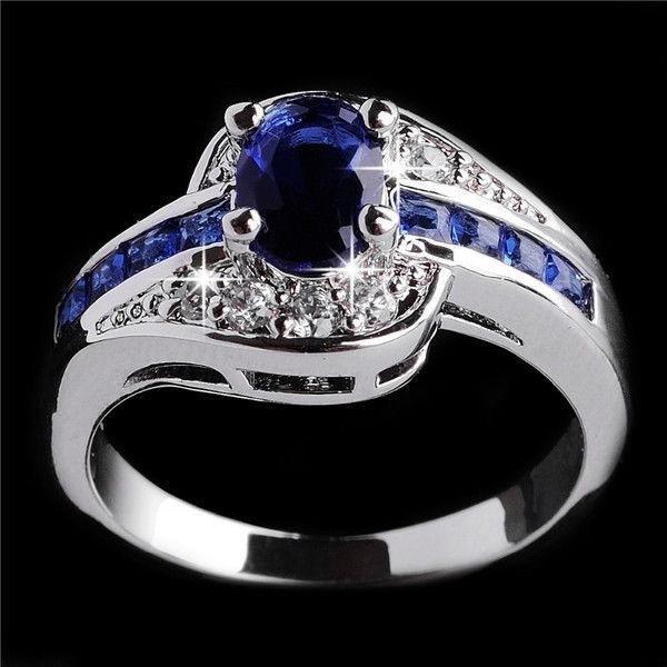 Anel Mulher liga Diamante Concise Mais Dedo Row Diamond Ring