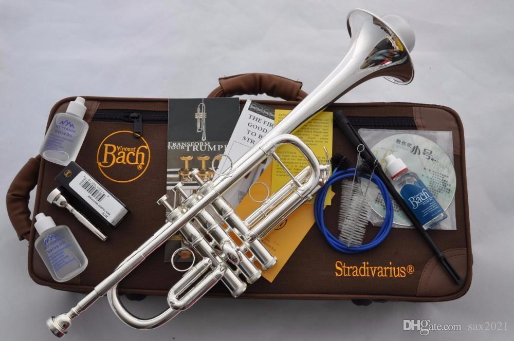 Vendita argento placcato BACH TRUMPET DROP TONE C TONE LT197GS-96 Strumenti musicali a livello di prestazione professionale Spedizione gratuita