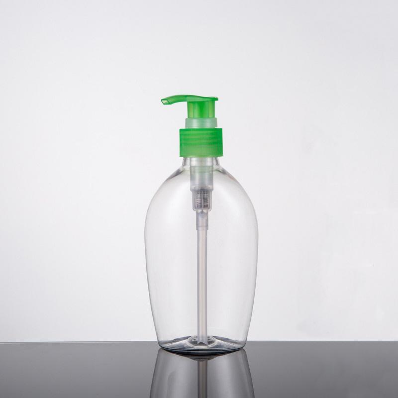 200 ml PET pompe en plastique bouteille transparent rechargeable bouteille pour le lavage du corps, désinfectant pour les mains jetables et cosmétiques fluide