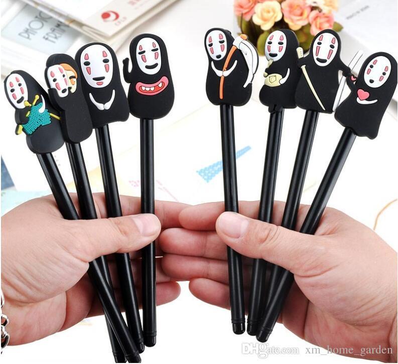 2020 Japanese Spirited Away Stationery Hayao Miyazaki Animation Gel Pen Ink Pen Novelty Cartoon