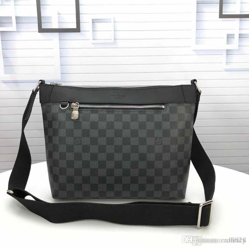 2020 новый роскошный дизайнерский портфель из кожи и холста роскошная дизайнерская сумочка модный принт M40003