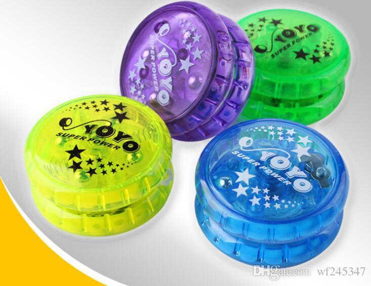 YoYo Ball Lumineux Jouet Nouvelle LED Clignotant Enfant Mécanisme D'embrayage Jouets Yo-Yo pour Enfants Party Entertainment Vente En Vrac