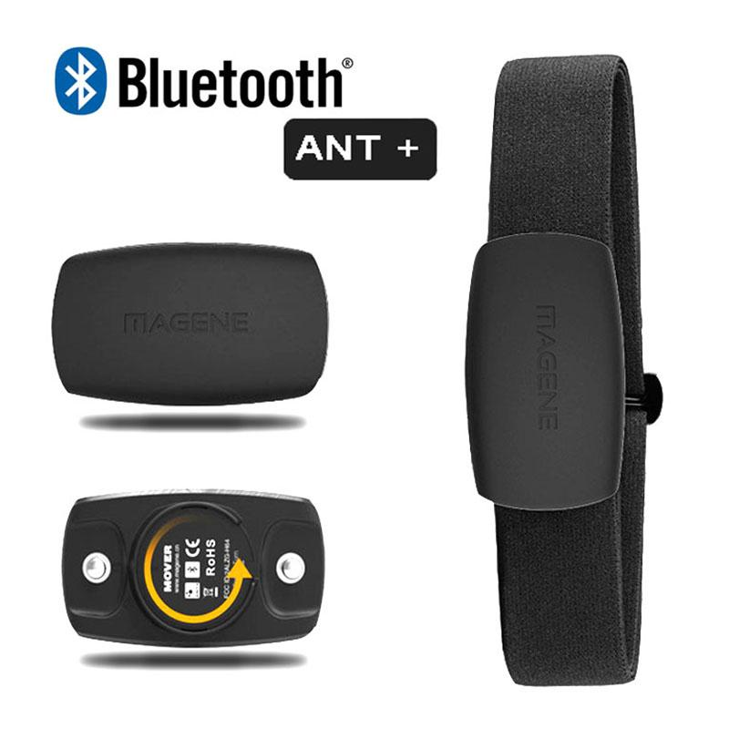 Magene Monding Monitor Monitor Bluetooth4.0 Ant + Датчик для Garmin Bryton IGPSSPORT Компьютер работает Спорт с нагрудным ремешком MHR10 Обновление