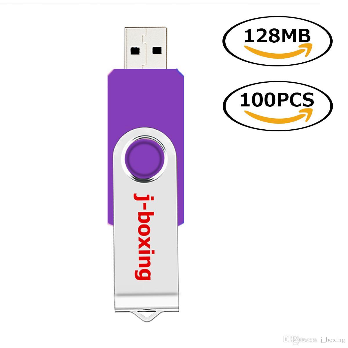128M Flash Drive USB2.0 Thumb Drives Storage Memory Stick Pen for PC