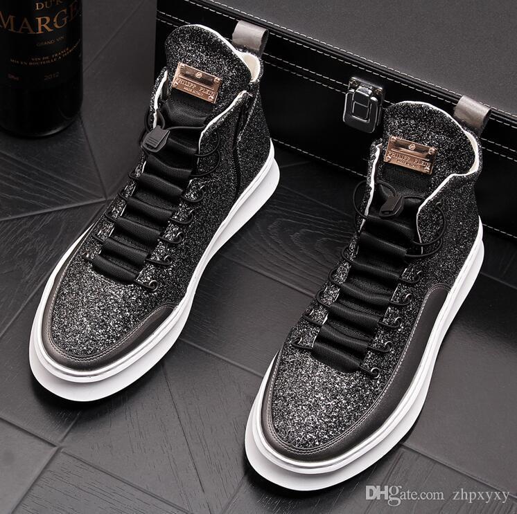 Neue High-End-Kleidung Schuhe Männer kleiden Schuhe Geschäft Freizeitschuhe Große Größe: 38 -43 Freies Verschiffen nx2a35.