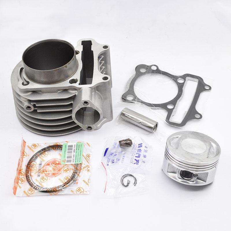 Мотоцикл цилиндров Поршневые кольца Прокладка Kit 63mm Отверстие для Racer RC200XZT Enduro Off Road Dirt Bike Кайо CQR Engine