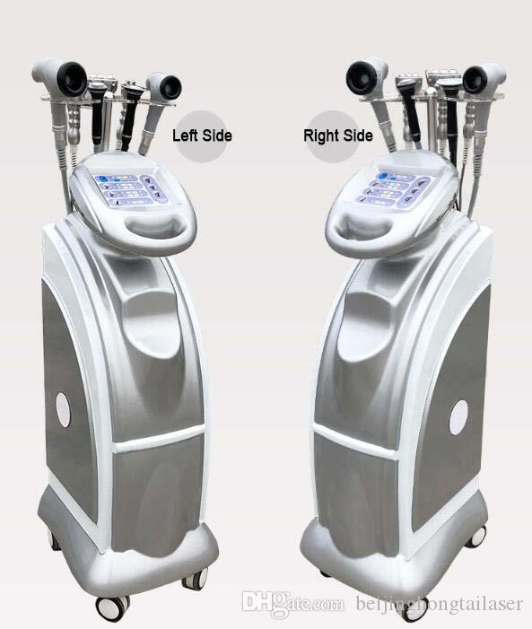 Yeni 7 in1 40 K Kavitasyon Vakum Anti-aging Çok Kutuplu Tripolar RF BIO Soğuk Hammmer Vakum Vücut Ince Makine
