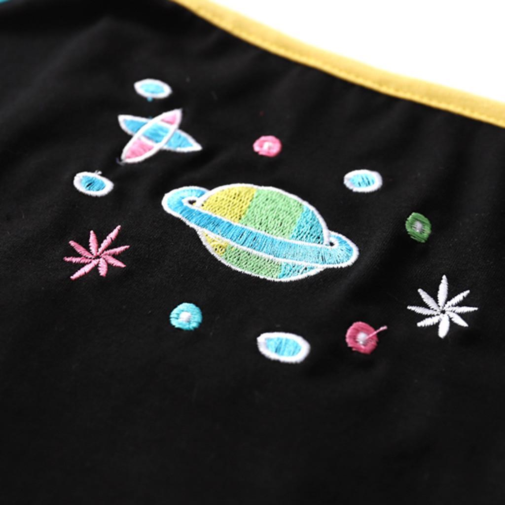 Mulheres Top Curto camisola arco-íris Strap Harajuku Streetwear Blusas femininas Moda Verão Planeta Imprimir Spaghetti Regatas Ropa Mujer