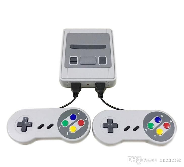 Мини игровая приставка SFC AV выход SNES 500 Classic Video Games может подключаться к телевизору и для двух игроков