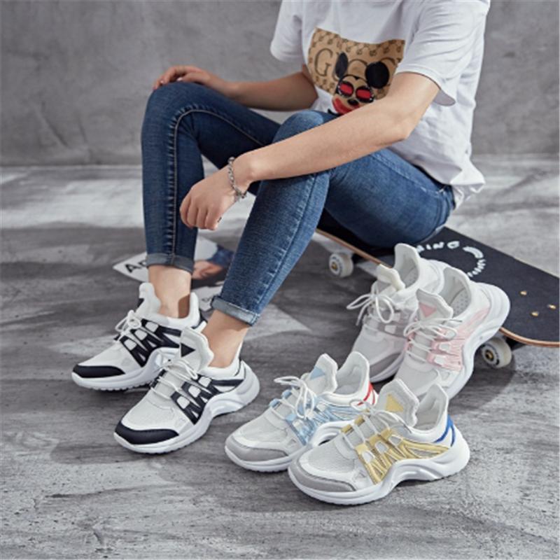 2020 nuevas señoras calientes zapatos casuales zapatos para correr versión coreana