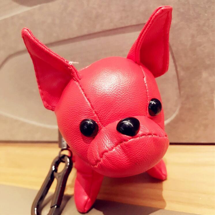 Designer Handbags Bulldog Pendant Bags Pendant Car Decoration Luggages Bag Parts Accessories Gifts Ugly Doll Ornaments Cute//