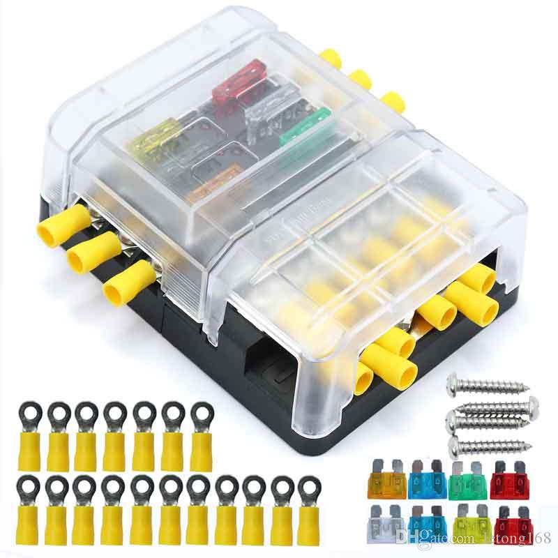 bus fuse box 2020 6p fuse box 12p negative bus line bus bar screw vehicle ship bus bar fuse box 2020 6p fuse box 12p negative bus line